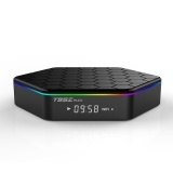 T95Z PLUS set-top box 2 g / 16 gb hd network player Android 6.0 2 g / 16 g TV BOX Black One Size