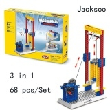 Assembly teaching machinery group, manual building blocks, children's puzzle toys, gifts Brown One Size