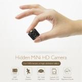 Mini Spy Hidden Camera HD1080P with 16G TF Card Portable Voice Video Recorder Camera Black Free Size