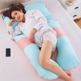 U multifunctional pillow for pregnant women side waist pillow Blue One Size