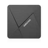 D5 Android 6.0 TV Box 1GB/8GB Rockchip RK3229 Media Player Black One Size