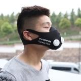 Elevation Training Mask, Fitness Mask, Workout Mask, Running Mask Blue L