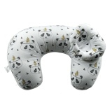 A baby pillow pregnant mother breastfeeding pillow u multifunctional baby pillow Brown One Size