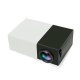 5pcs LCD Portable 1080P LED Mini Projector Home Cinema BlackA One Size