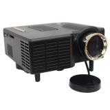 Mini Portable VGA/USB/SD/AV/HDMI HD Projectors Black B One Size