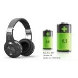 H+ music Headphones Stereo Wireless Bluetooth Headset Black F One Size
