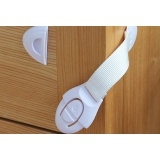 20 PCS Multifunctional child safety door lock cabinet drawer ribbon baby infant cloth wardrobe lock Multicolor One Size