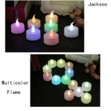 12 pcs Electronic candle, led declaration candle light Multicolor Free Size