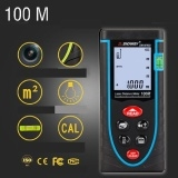 Laser Distance Meter Digital Electronic Precision Rangefinder Tape Multicolor 100 M