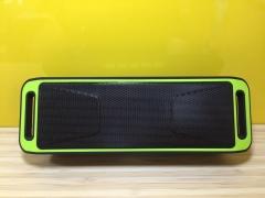 SC208 Bluetooth Speaker USB Port TF FM Radio Bass Red one size