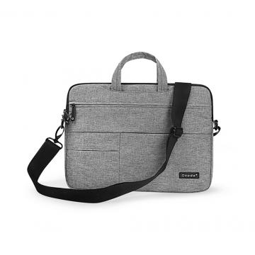 Handbag  shoulder bag laptop bag waterproof liner bag T41 gray 13 inch