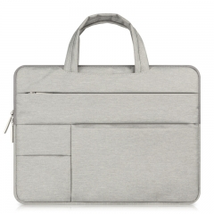 for Apple macbook laptop bag air pro 11 12 13 15 inch inner bag protective cover mac light gray 12 inch