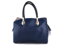 Designer Box-Style Letatherette Ladies Handbag