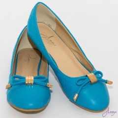 Amaiya Elegance Blue Trendy Ballerina Ladies Shoes