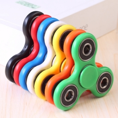 1PC  Adult Childern Gift Toys Hand Spinner Fidget Toy Finger Spinner for Anxiety Focusing green one size