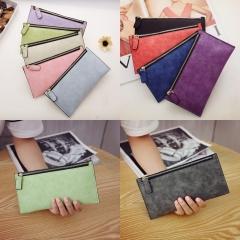 Fashion Vintage Women Storage Bag Purse Zipper Handbag gray one size