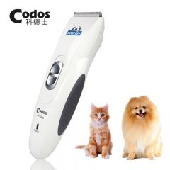 Pet Cat Dog Hair Trimmer Grooming Kit Rechargeable Electrical Clipper Shaver Set Haircut Machine White Handy