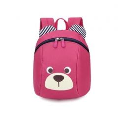 Aged 1-3 Toddler backpack Anti-lost kids  bag cute animal dog children backpack Hot Pink
