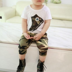 Baby Boy Clothes Summer 2017 New Fashion Kids Boys Clothes Children Toddler Boys Clothing 1 80cm(height)