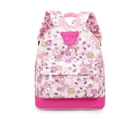 Kids  Cartoon Cute Bear Backpacks For Toddler Girls  Children Rucksacks Mochilas Escolares pink