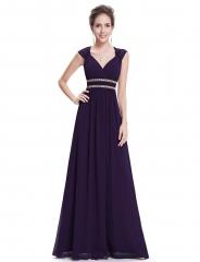 Women's Sleeveless Grecian Style Bridesmaid Dress #01 4