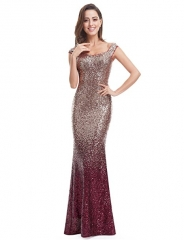 Sequins Long Formal Evening Gown #01 4