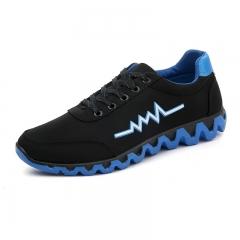 New Free Men Unisex shipping Fashion casual denim canvas shoes men shoes blue US7