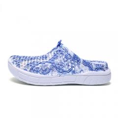 Women Summer Shoes Beach Sandals Women Hollow Slippers Flip Flops Women Light Sandalias Outdoor blue US5.5
