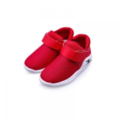 Children's casual shoes fashion baby boy toddler shoes breathable mesh mesh sport kids shoes red 5.5