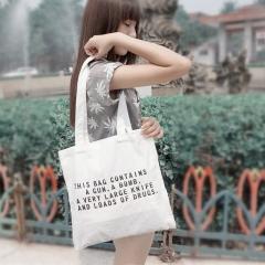 Heavy Duty Canvas Tote Bag Handmade Canvas Shopping School Books Trip Bag Women Shoulder Bag #01 one size
