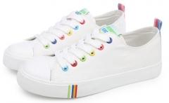 Breathable Canvas Shoes Women Men Lovers Shoes Fashion shoes for Women Brand white 35(women)