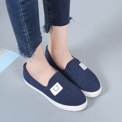 New Fashion Spring Summer Women Flats Zapatos Mujer Round Toe Flat Shoes Canvas Shoes 01 35(women)