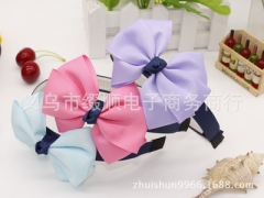 3pcs/lot Girls Hair Clasp Headband For Glitter Cover Plastic  Hair band Girls Hair Accessories #01 3pcs