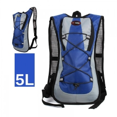 Lightweight Packable Durable Travel Hiking Backpack Blue 22.5*45*5