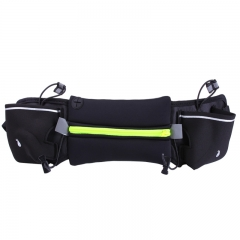 outdoor movement kettle pockets waterproof Anti-theft Mobile phone bag waterproof  Multifunction Fluorescent green large
