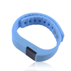 outdoor movement intelligent wristband Burst section stand by iPhone Android system Bluetooth Step blue one size