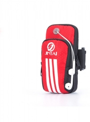 outdoor  Arm pack movement Mobile phone Run Arm pack Ride music Arm pack  armband Small package red small