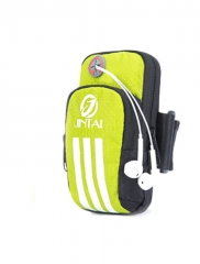 outdoor  Arm pack movement Mobile phone Run Arm pack Ride music Arm pack  armband Small package Fluorescent green large