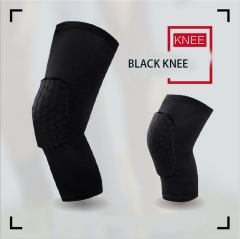 outdoor movement  Knees honeycomb basketball  Crash Leggings Protector Knees black M