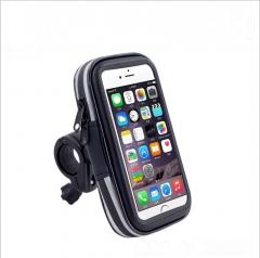bicycle Mobile phone General water-proof bag navigation Car Mobile phone bag waterproof Stent black