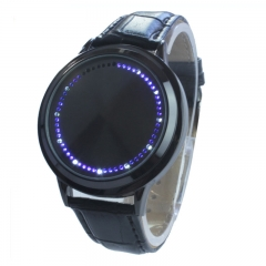 Creative Touch digital Tatch Fashion Touch Screen Led Watch Trend Couple Wrist Watch black one size