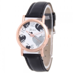Love Rose Gold Route Belt Watch Ms Trend Fashion Leisure Watches black