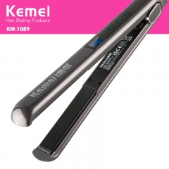 Touch screen ceramics Negative ions Hair care Straightener Straight hair Plywood Perm black one size