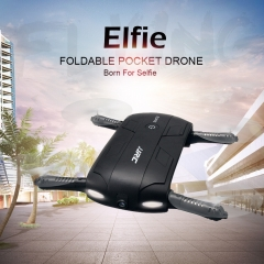 30w Pixels HD Fold Mini Remote Control WIFI Small Self-timer UAV black 13.5*6.5*2.5