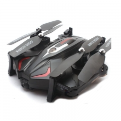 Foldable UAV Four axes Aircraft Set high real time Biography camera Model aircraft toy black 32*36*8.5CM