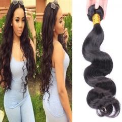 Virgin Brazilian Hair Body Wave Style Human Hair Black 8inch