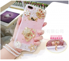 Rhinestone Case Stand Cases Gifts For OPPO R9  r9plus R7S R7PLUS A53 A31T R9S/find9  A33 A51 A59 A39 Kitty OPPO R9