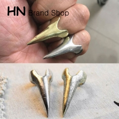 HN Brand-1 piece/Set New Beautiful Wolverine Man Necklace metal Rings Women Jewellery Christmas Gift gold One Size