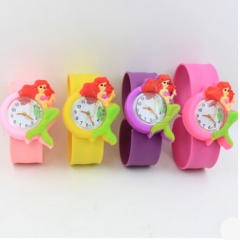 HN-1Pcs/Set New Give a gift to children cartoon animals animation Pointer Boys Watches Toy wholesale mermaid