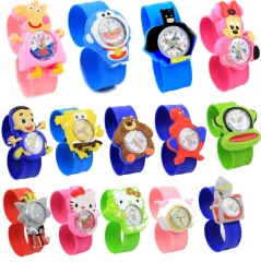 HN-1Pcs/Set New Give a gift to children cartoon animals animation Pointer Girl Watches Toy wholesale Hello KT Cat 1